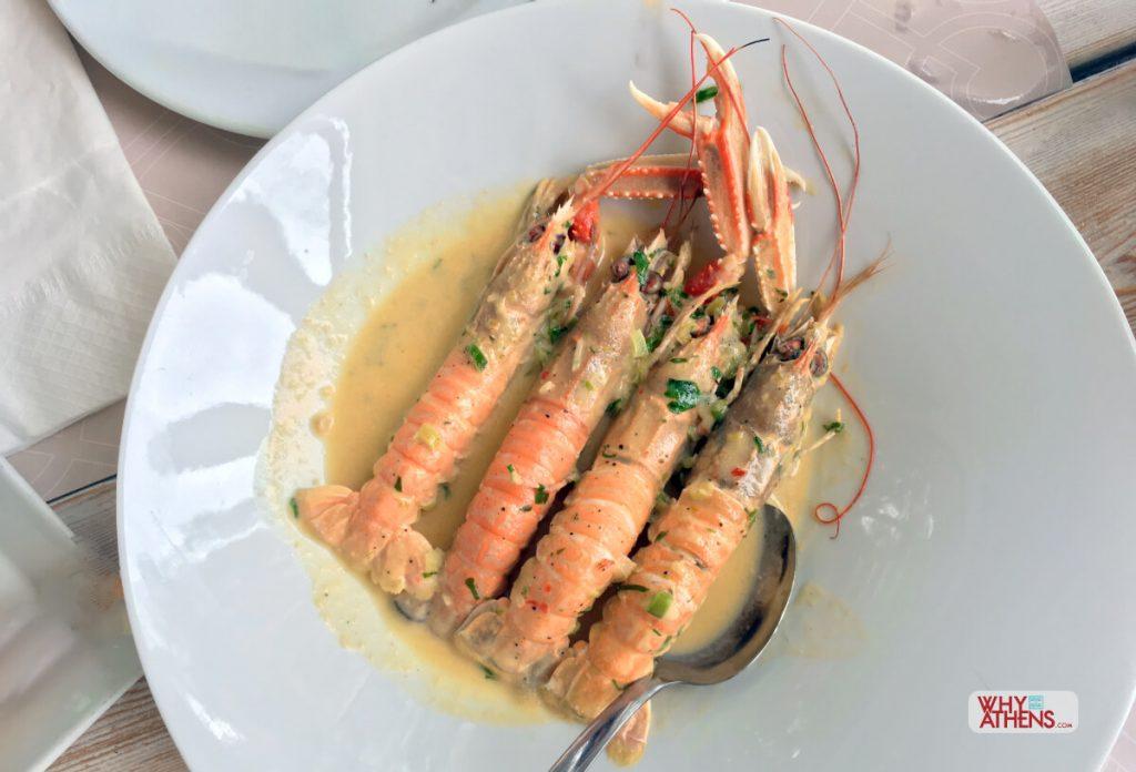 Athens Riviera Vouliagmeni Garbi Seafood