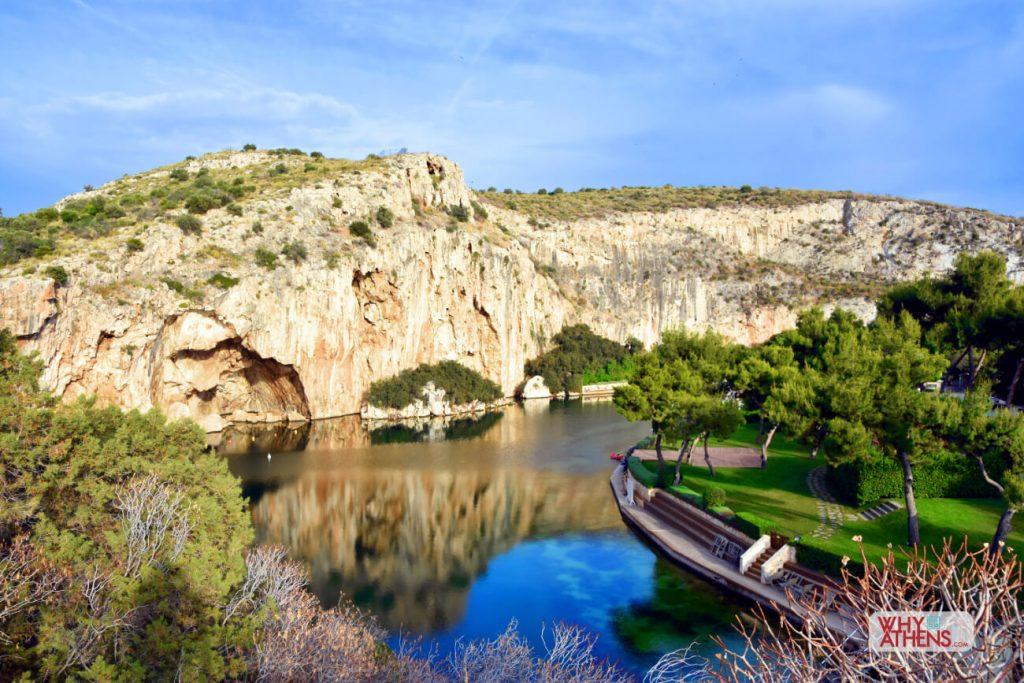 Athens Riviera Vouliagmeni Lake
