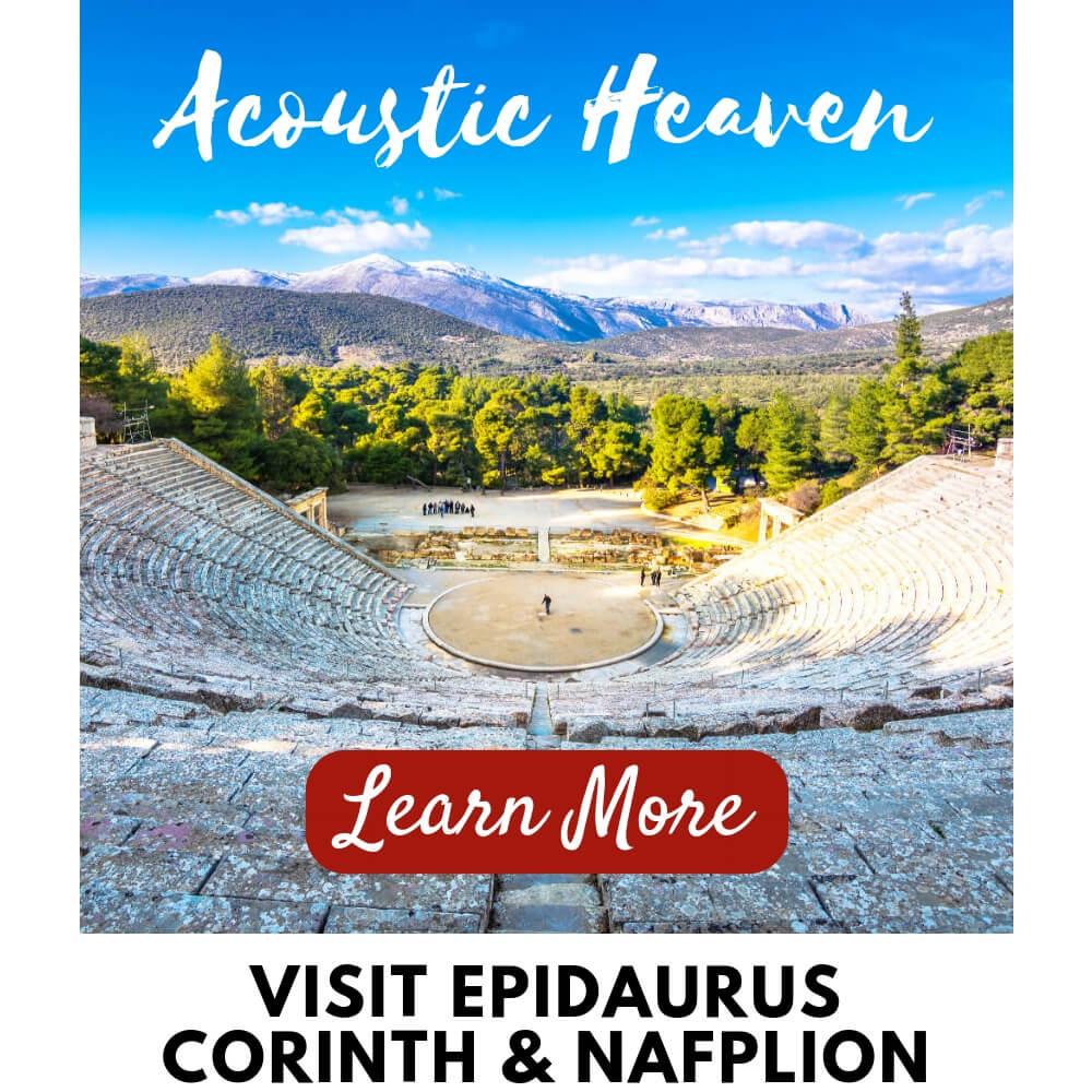 Corinth Epidaurus Nafplion Tour