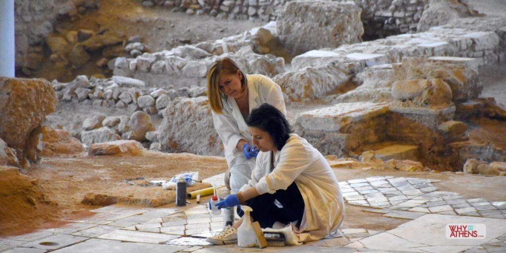 Acropolis Museum Events Underfloor Exhibition