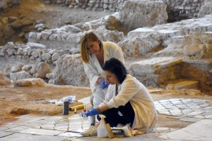 Acropolis Museum Events Underfloor Exhibition