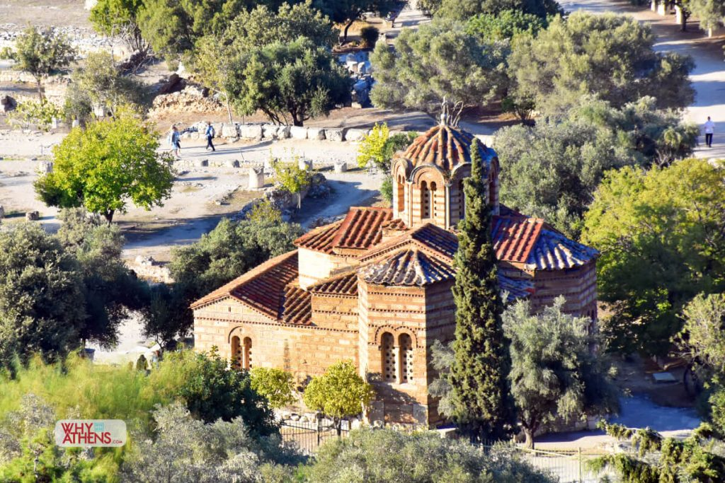 Ancient Agora Church Holy Apostles