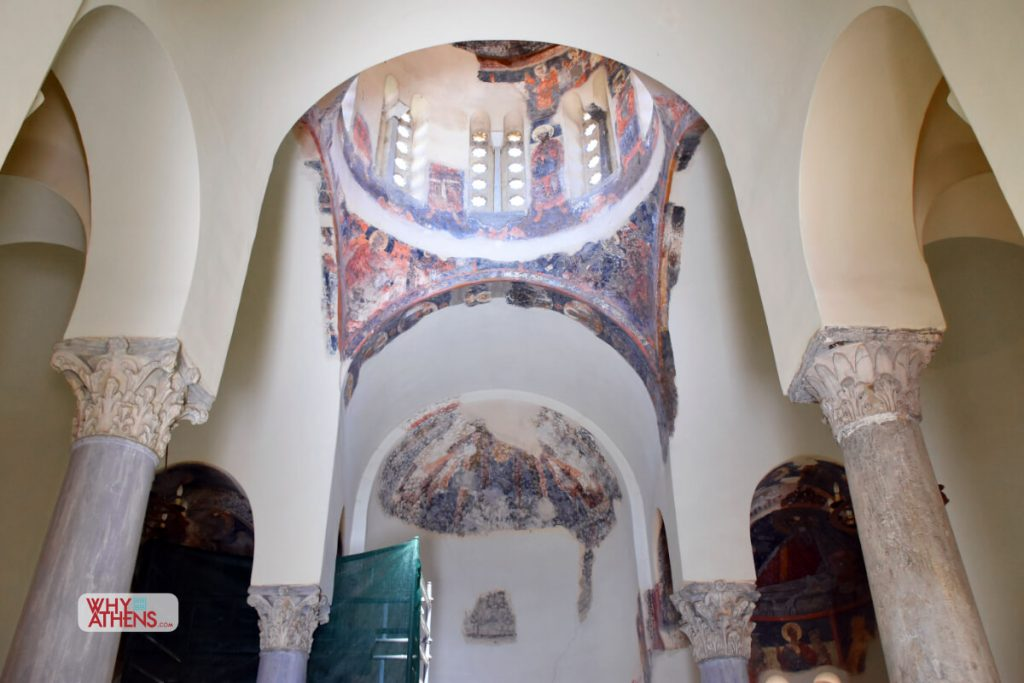 Ancient Agora Church Holy Apostles Inside