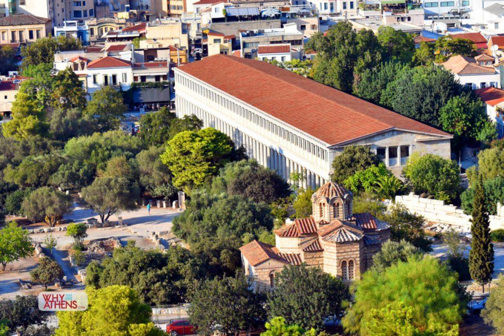 Ancient Agora Stoa Attalos