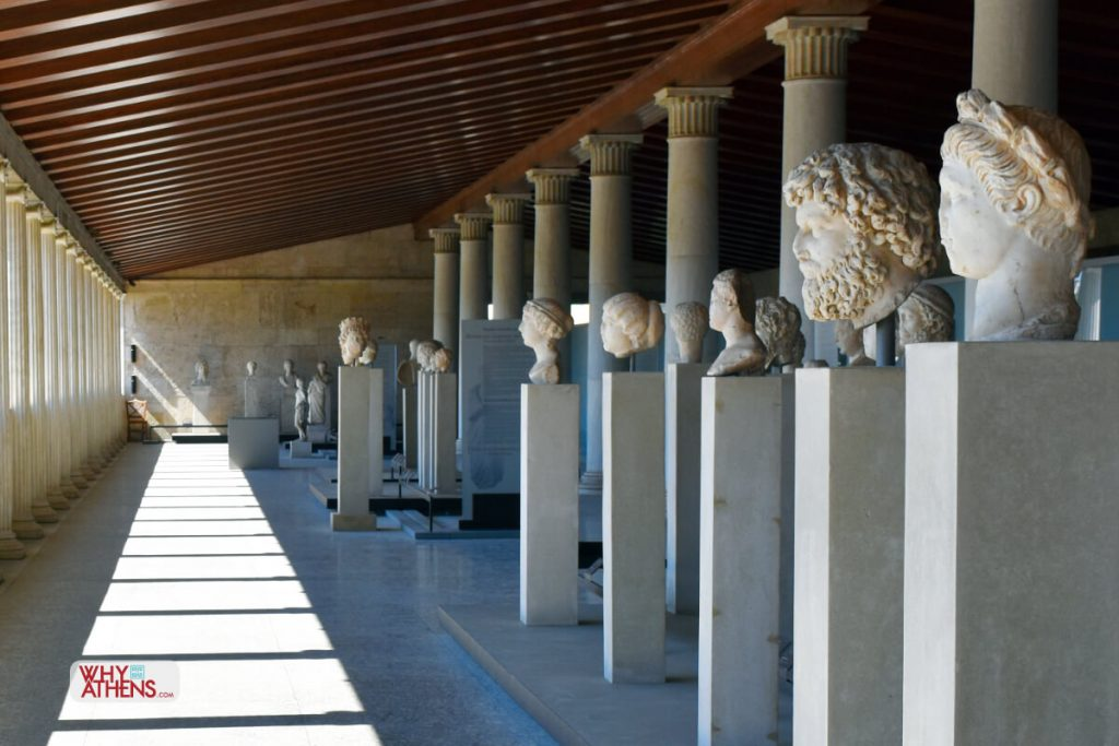 Ancient Agora Stoa Attalos Gallery