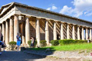 Ancient Agora Temple Hephaestus