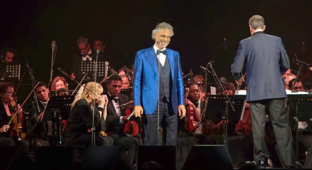 Athens Events Andrea Bocelli