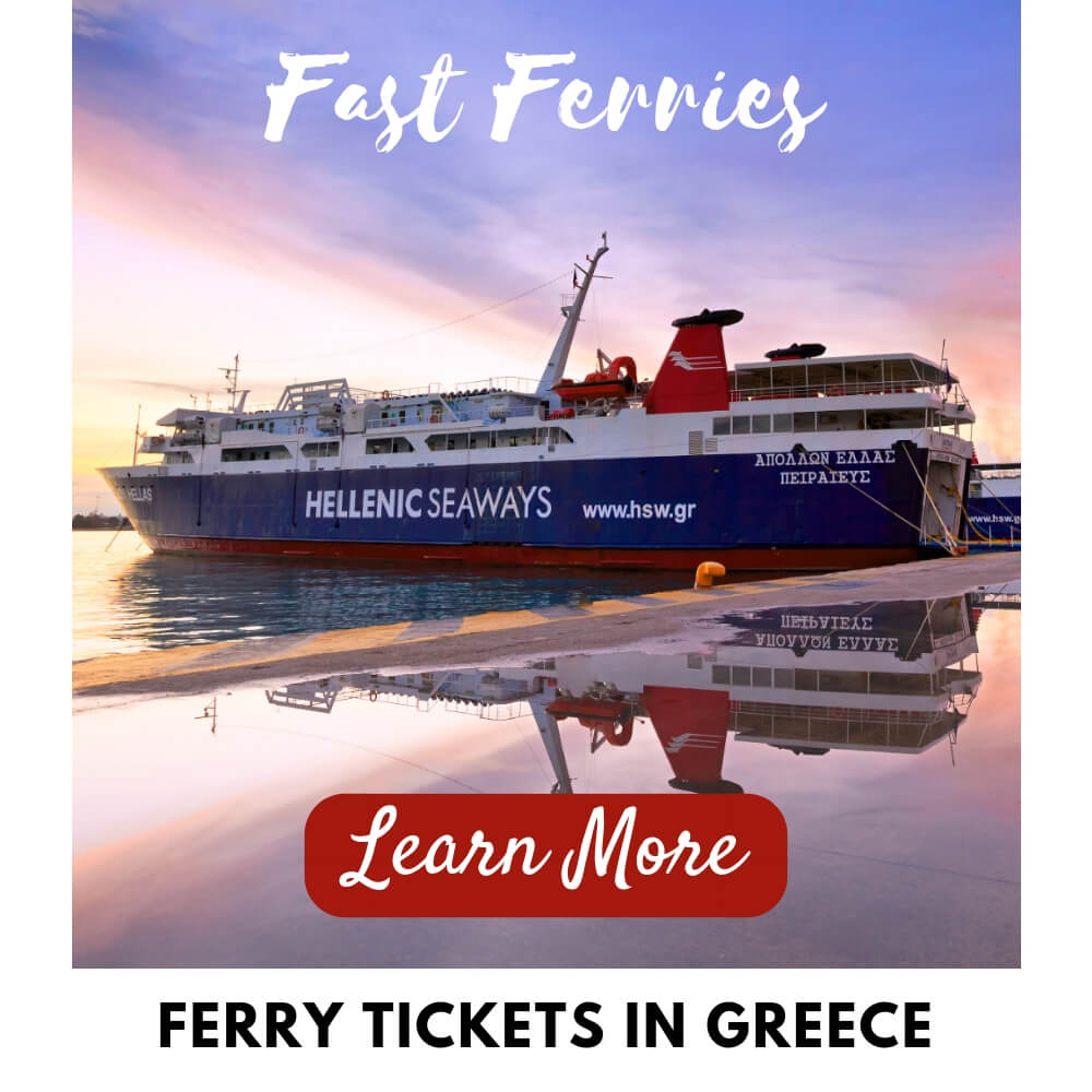 Athens Tours Ferry Tickets