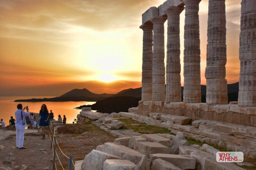 Athens Tours Sounio Sunset