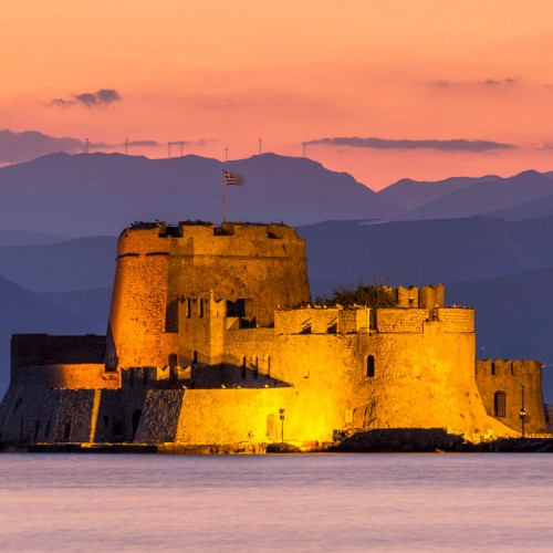 Nafplion Bourtzi Castle Why Athens