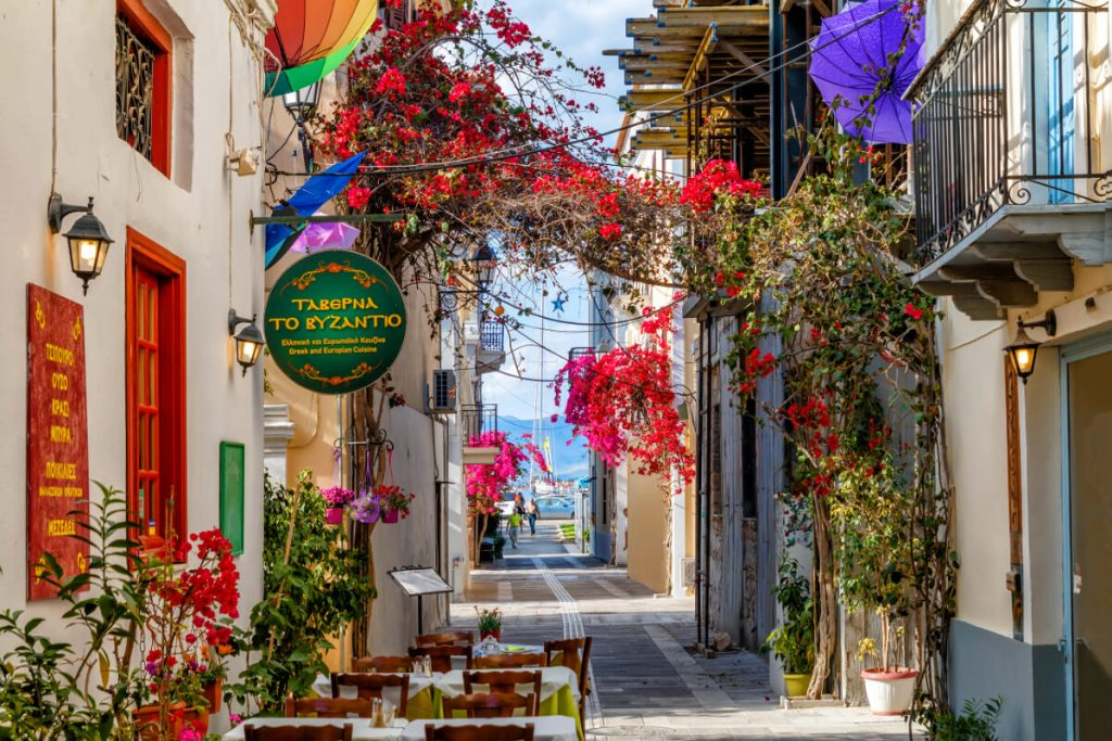 Nafplio Old Town Streets
