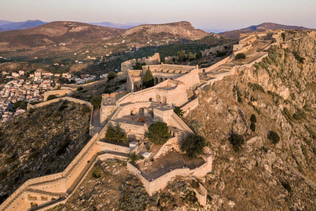 Nafplio Palamidi Fortress 999 Steps
