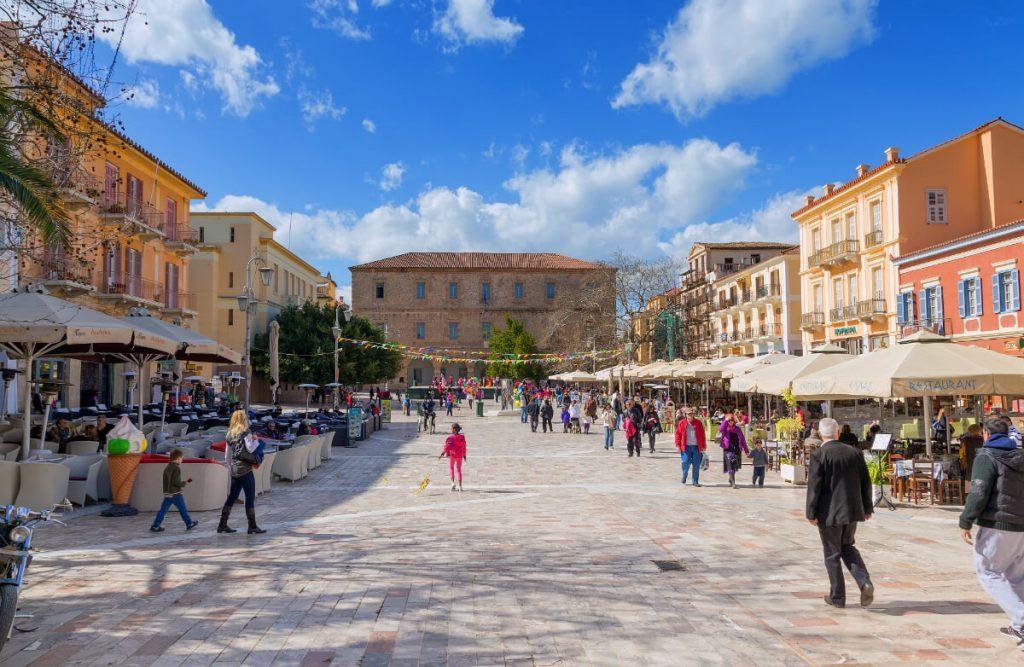 Nafplio Syntagma Square Artemida