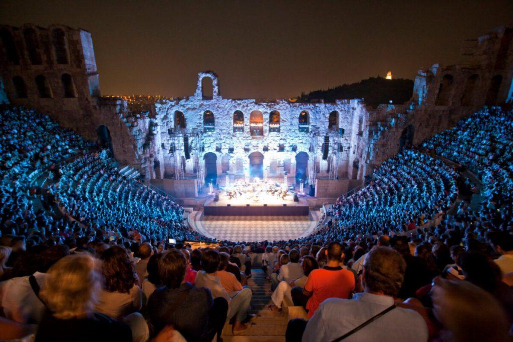 Odeon Herodes Atticus Thanos Mikroutsikos