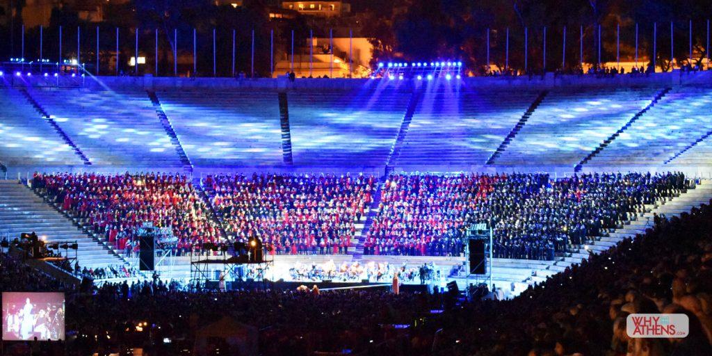 Panathenaic Stadium Theodorakis Tribute