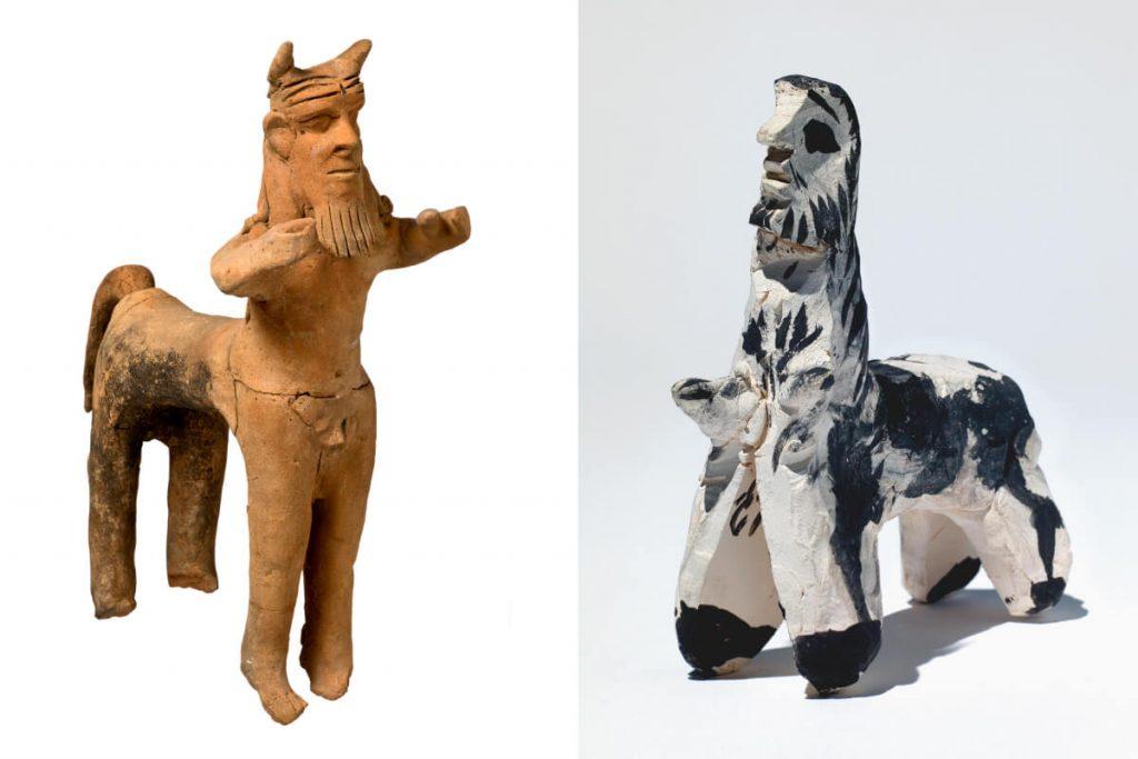 Picasso Cycladic Museum Athens Centaur