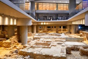 Acropolis Museum Events Underground Excavation