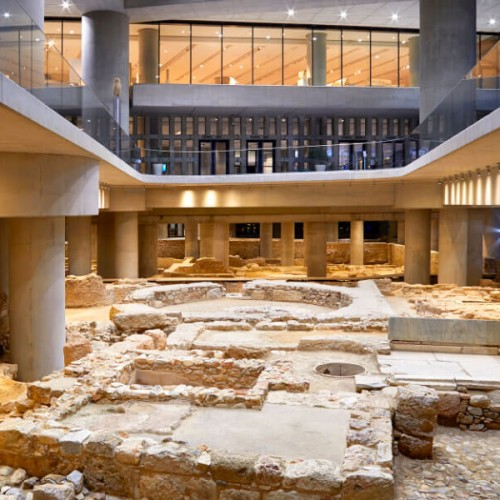 Acropolis Museum Events Underground Excavation