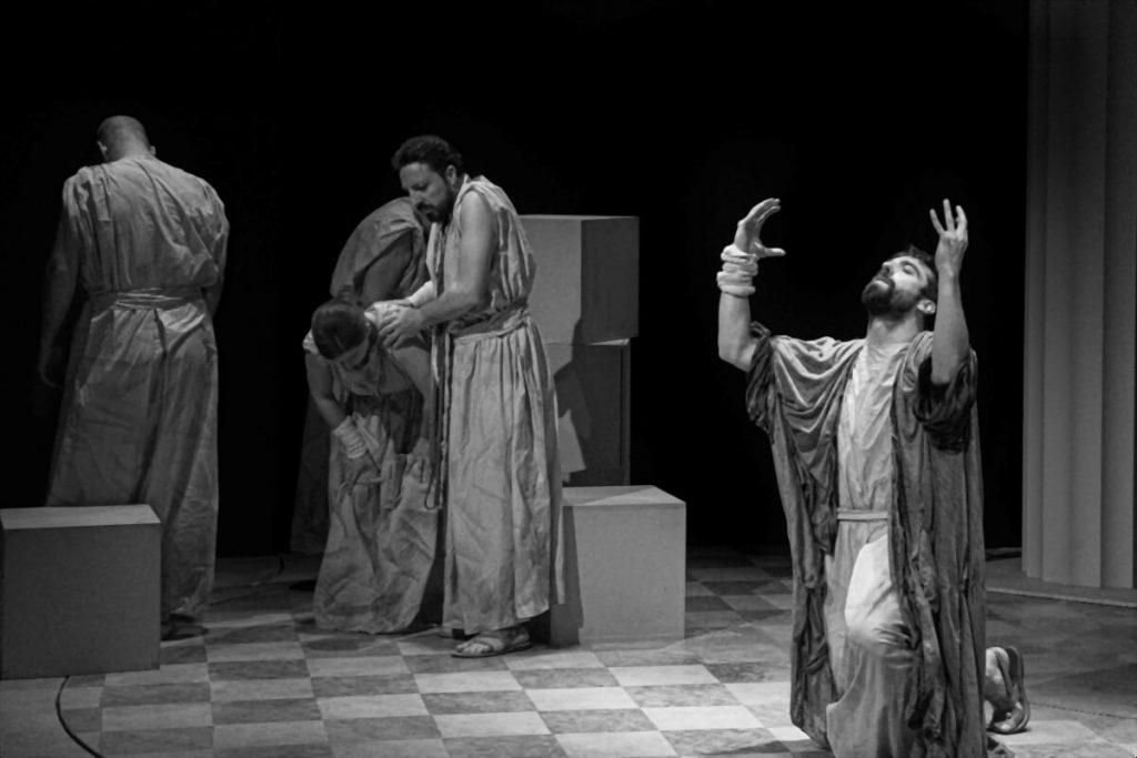 OEDIPUS REX Fimonoi Theater Athens