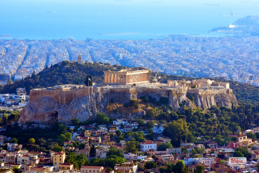 Hills of Athens Acropolis