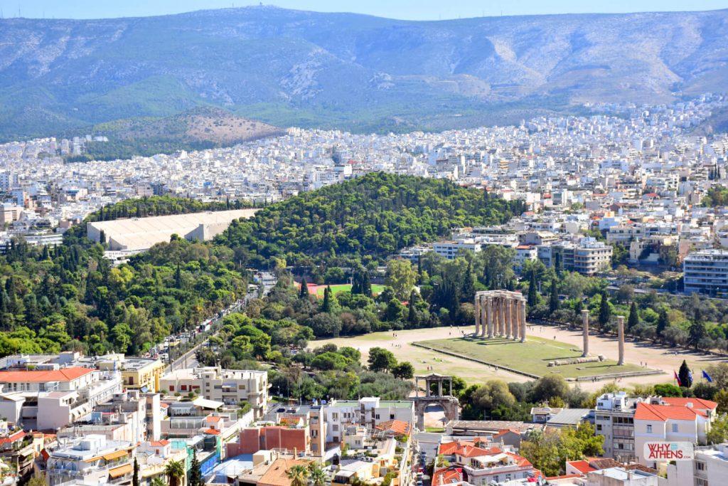 Hills of Athens Ardettos Panathenaic