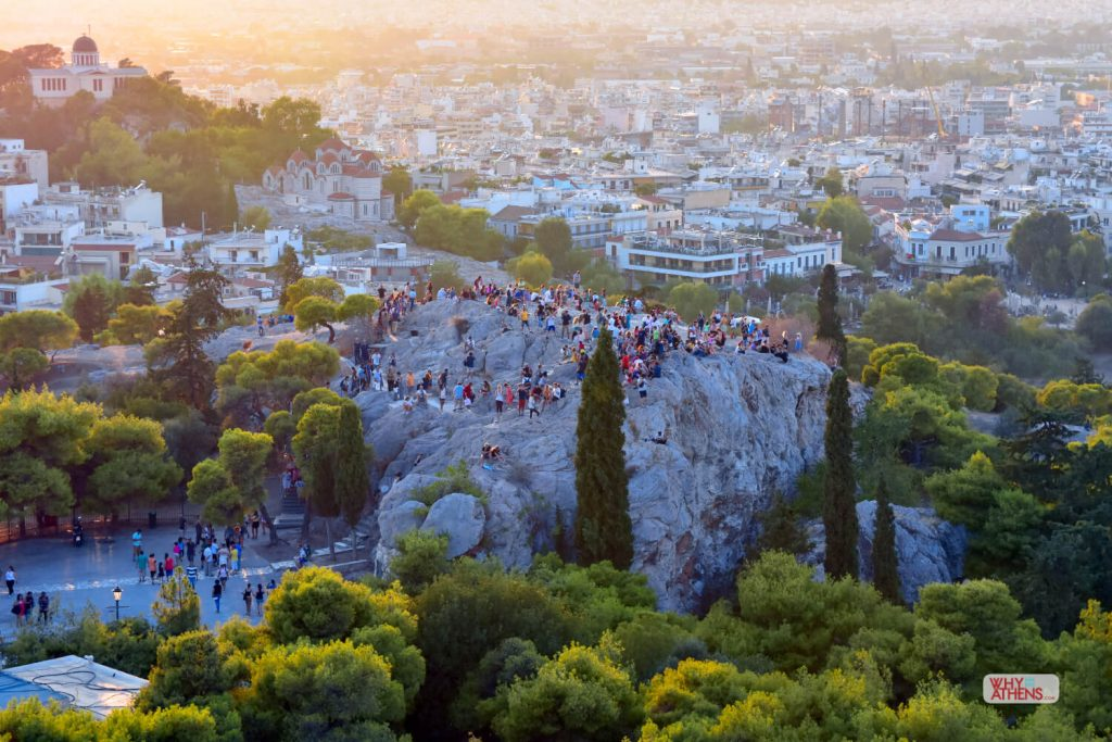 Hills of Athens Areopagus