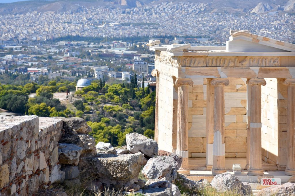Hills of Athens Nike Temple