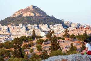 Hills of Athens Panoramic