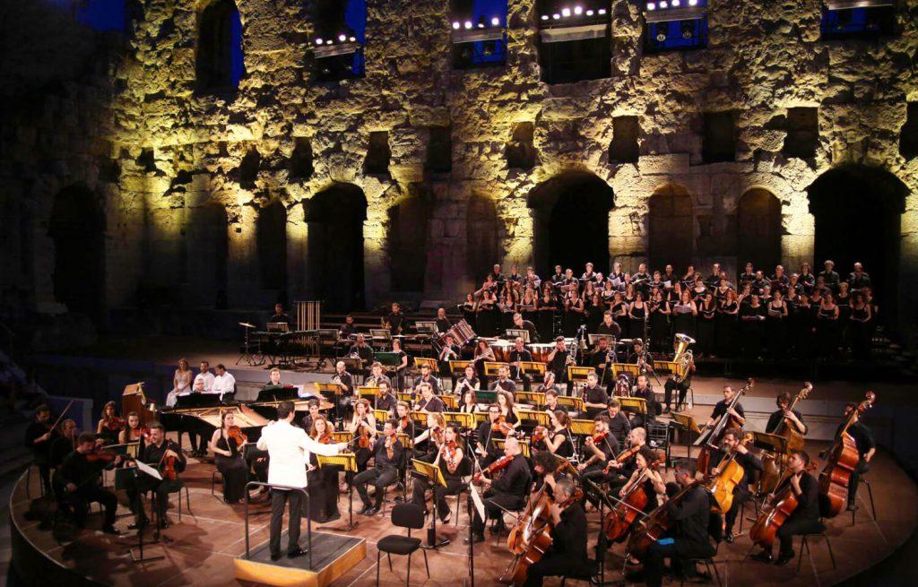 Athens Festival Odeon Armonia Atenea